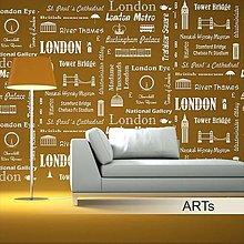 Dekorácie - (3691xo) Šablóna na maľovanie - London - 5539833_