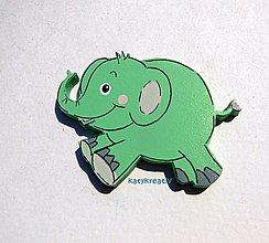 Magnetky - sloník - 5539174_