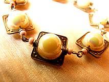 Sady šperkov - Antika - set náramok a náušnice - 5539604_