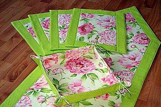 Úžitkový textil - Zelený kuchynský set - 5541209_