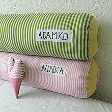 Úžitkový textil - Ceruzka - vankúš 80 cm s menom - 5539488_