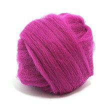 Textil - Merino vlna - 25 g (Fuchsia) - 5538733_