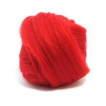 Textil - Merino vlna - 25 g (Scarlet) - 5538742_