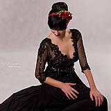 - Variabilné šaty 2 v 1 - Nočná obloha - 5541151_
