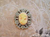 - Štrasová dekorácia Cameo - 5544159_