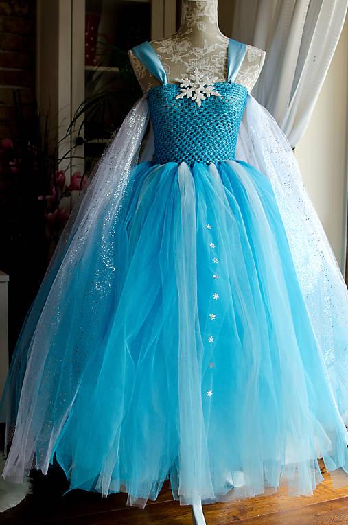 8bbf9f113c45 Šaty Elsa   zojkaninka - SAShE.sk - Handmade Šaty