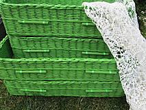 Košíky - Zelené jabĺčka - 5541901_