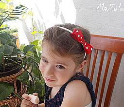 Ozdoby do vlasov - čelenočka pre bambuľku č.1 - 5541754_