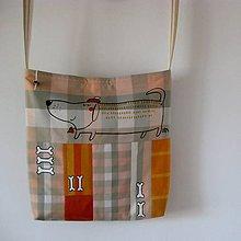 Veľké tašky - JEZEVČÍČEK - taška plážová - 5542170_