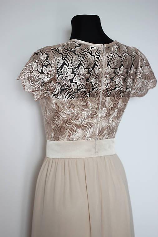adbb37bb83d4 Spoločenské šaty s vyšívanou krajkou rôzne farby   Dyona - SAShE.sk ...