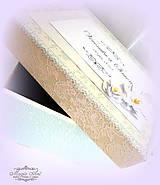 """Krabičky - Krabica na svad. pohľadncie """"Mentolová óda na lásku II."""" - 5543261_"""
