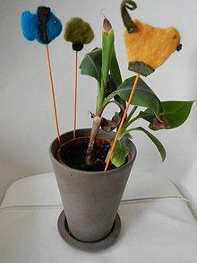 Dekorácie - rybka,kura,strom do kvetináča?.... - 5542555_