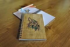 Papiernictvo - Zápisník - vlk - 5545446_