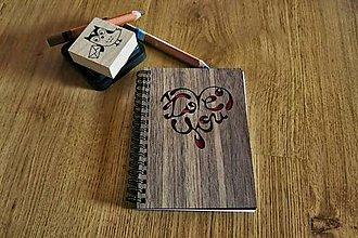 Papiernictvo - Zápisník - Love You - 5545434_