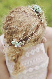 Ozdoby do vlasov - Dvojhrebienok