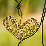 Náhrdelníky - Prírodou srdce volané ... - 5547756_