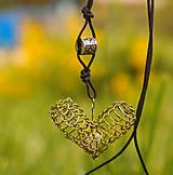 Náhrdelníky - Prírodou srdce volané ... - 5547757_