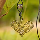 Náhrdelníky - Prírodou srdce volané ... - 5547759_