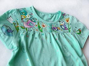 Detské oblečenie - Vtáčiky na ľudovú nôtu II - 5548844_