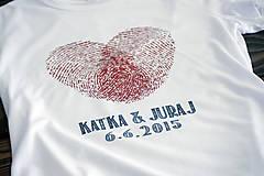 Svadobné tričko