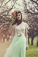 """Ozdoby do vlasov - Venček """"kráľovná letných záhrad"""" - 5547575_"""