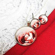 Sady šperkov - Red rose - sada i jednotlivě - 5548999_