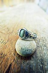 Prstene - Tepaný - labradorit - 5548757_