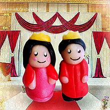 Hračky - Princ a princezná (2 NA ZÁKAZKU) - 5547416_