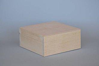 Polotovary - Drevená krabica na CD S01222 - 5550086_