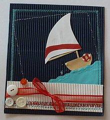Papiernictvo - Letná dovolenka - šitá - 5549935_