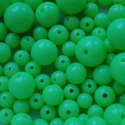 Plastové korálky-MIX-50g