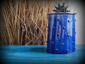 Nádoby - dóza ,,Blue star,, - 5552531_