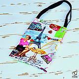 Veľké tašky - Farebná kabelkovatá taška-ZĽAVA - 5551739_