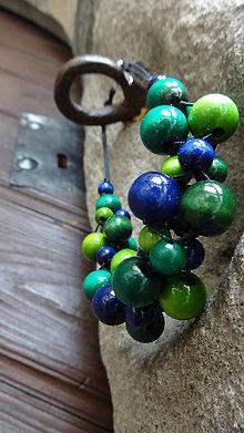 Náhrdelníky - Blueberry Mojito - veľ.M - 5551962_