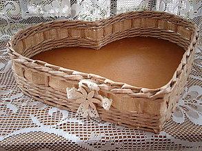 Košíky - Srdce veľkééé..Johanka - 5551827_