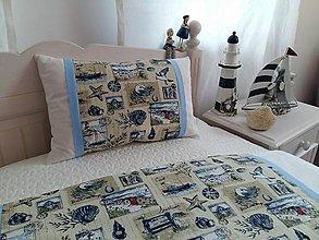 Úžitkový textil - Detské posteľné obliečky Seaside Greetings - 5552706_