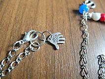 Náhrdelníky - Námornícky náhrdelník - 5554124_
