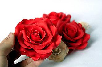 Drobnosti - Cukrová ruža veľká - 5556202_
