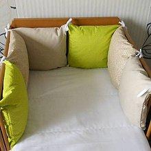 Textil - Vankúšiky hnedo-zelené - 5555076_