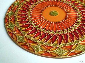 Dekorácie - Mandala Slnka - 5555398_