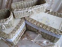 Košíky - Vanilkové pokušenie - 5557559_