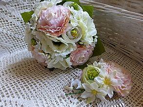 Kytice pre nevestu - Svatební - 5557016_
