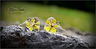 Náušnice - Náušnice Symbol lásky (1774 B) - 5559992_