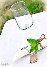 Darčeky pre svadobných hostí - menovky