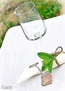 Darčeky pre svadobčanov - Darčeky pre svadobných hostí - menovky - 5557935_
