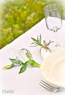 Darčeky pre svadobčanov - Orchidea - darčeky pre svadobných hostí - menovky - 5558097_