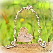 Darčeky pre svadobčanov - Darčeky pre svadobných hostí - menovky - 5558287_