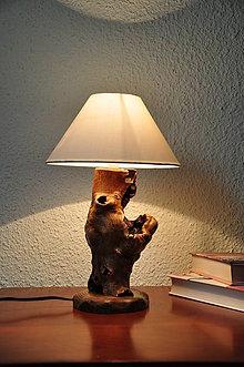 Svietidlá a sviečky - Beech table lamp 2 - 5562634_