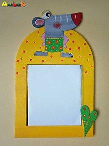 Zrkadlá - Zrkadlo - myška - 5562730_