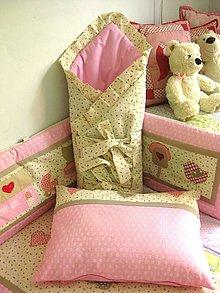Textil - ružové čarovno - 5561603_